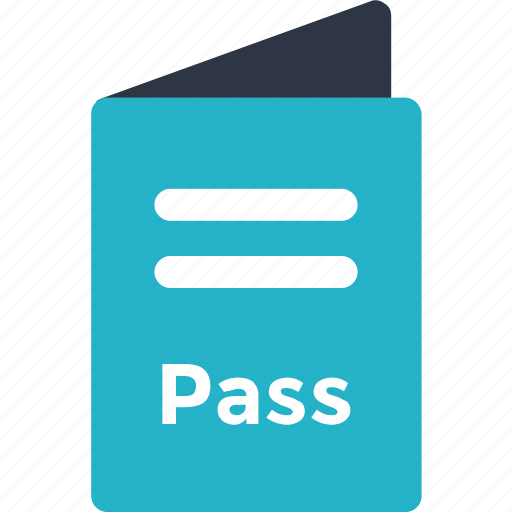 airport, pass, passport icon icon