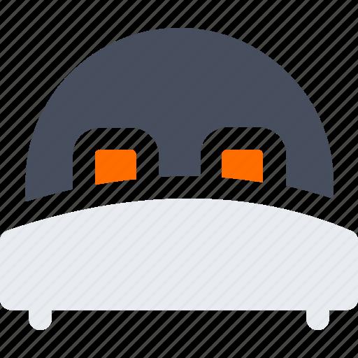 bed, hotel, sleep icon icon
