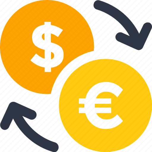 currency, exchange, money icon icon