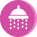 acomodation, bath, bathroom, hotel, room, shower, vacation icon