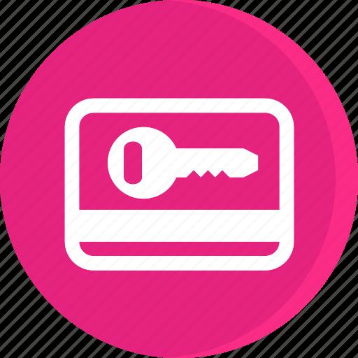acomodation, hotel, room, room key, service, trip, vacation icon
