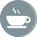 acomodation, coffee, hotel, room, service, tea, vacation icon