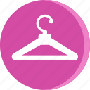 cloth, clothing, fashion, hanger, hanger icon, hotel icon