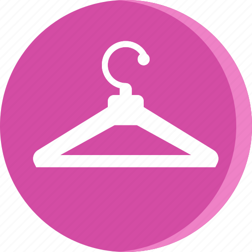 cloth, clothing, fashion, hanger, hanger icon, hotel icon
