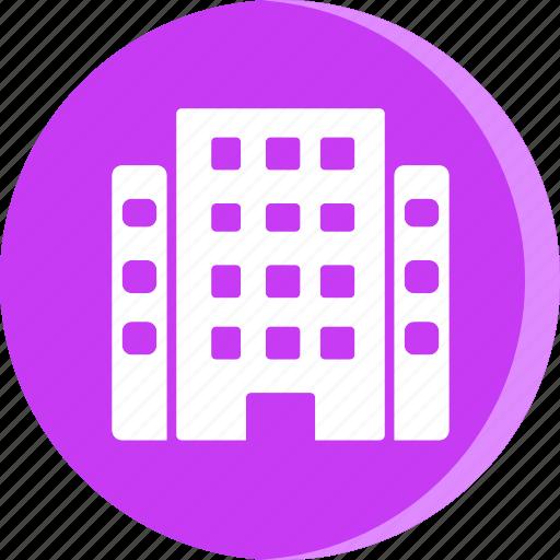 building, hotel, resort, travel, trip, vacation, vacation icon icon