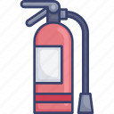 extinguisher, fire, protection, safety, utilities icon