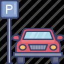 car, park, parking, transport, transportation, vehicle