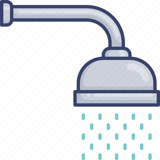 Bathroom, facilities, head, hygiene, shower, utilities icon