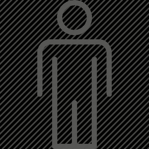 gentlemen, sign icon