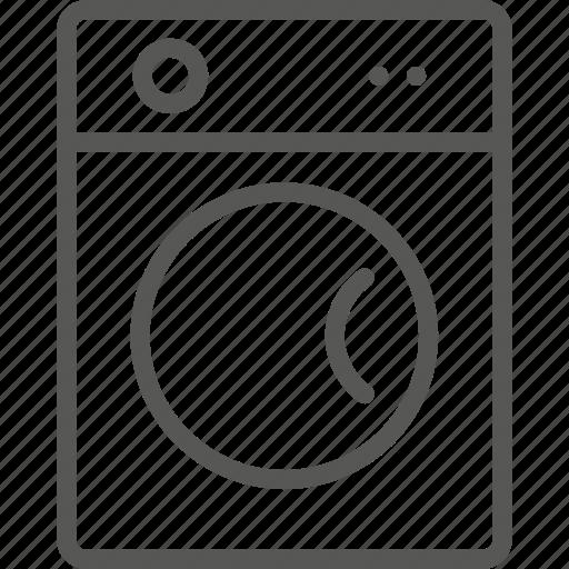 dryer, tumble icon
