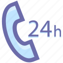 call, call service, customer care, telephone icon
