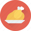 chicken, food, grilled, meal, roast icon