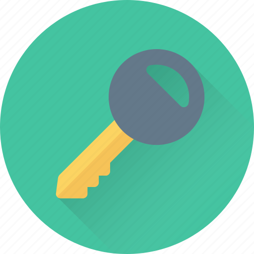 Key, lock key, protection, room key, security icon - Download on Iconfinder