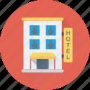building, hotel, lodge, real estate, tourism