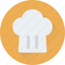 chef, chef hat, cook, toque, uniform icon
