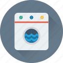 appliance, dryer, electronics, laundry, washing machine icon