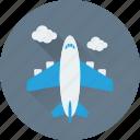 aircraft, air travel, plane, airplane, aeroplane