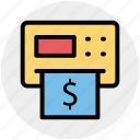 atm, cash, machine, money, teller, withdrawal icon