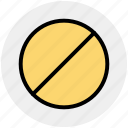 allowed, forbidden, not, not allowed, unavailable, warning icon