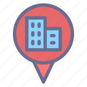 country, direction, location, map, pin, real estate, tourism icon