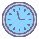 clock, hour, schedule, timepiece, timer, wall clock icon