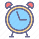 alarm, bell, clock, schedule, table watch, timer icon
