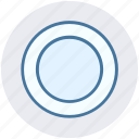 cooking, dish, eating plate, kitchen, plate, platter icon