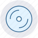 cd, compact, disc, dvd, medical disk icon