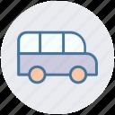 bus, car, hotel bus, road bus, transportation icon