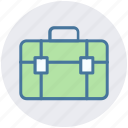 bag, briefcase, luggage, portfolio bag, satchel, trip bag icon