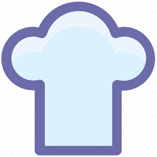 chef, chef hat, chef's uniform, hat, headwear, toque icon