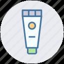 cream, cream container, cream jar, massage cream, spa cream, spa ointment icon