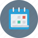 date, calendar, schedule, day, timeframe icon