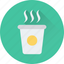 hot tea, coffee, beverage, take away, drink icon