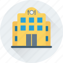 building, food, hotel, cafe, restaurant icon