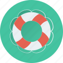 life belt, life buoy, support, safety, life ring icon