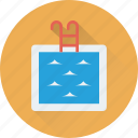 pool, swimming pool, sea, summertime, swimming icon