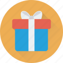 wrapped, present box, gift, gift box, present icon