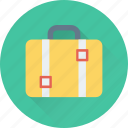 baggage, bag, suitcase, travel bag, luggage icon