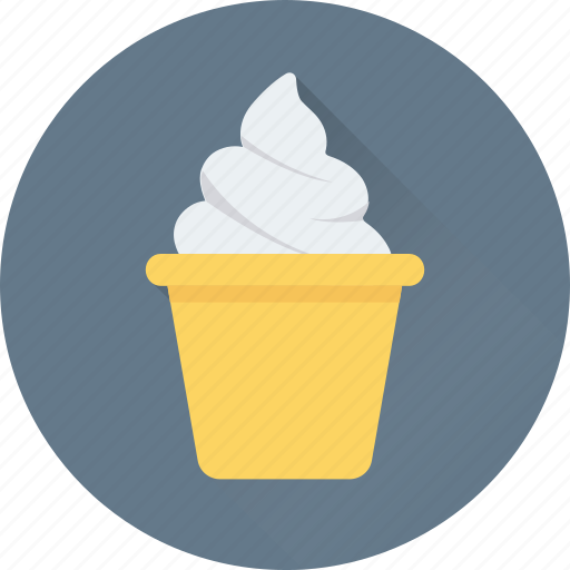 Dessert, food, ice cream, ice cream cup, sweet icon - Download on Iconfinder