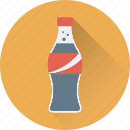 cola, cola bottle, drink, fizzy drink, soda icon