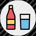 alcohol, beer bottle, bottle, drink, wine, wine bottle icon