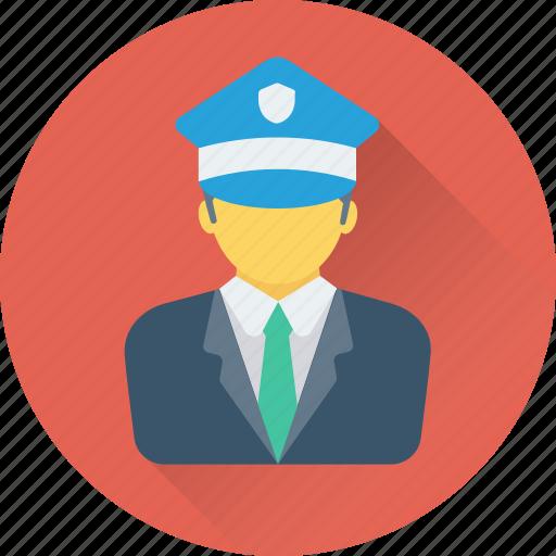 avatar, captain, chauffeur, driver, pilot icon