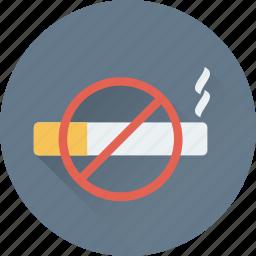 cigarette, no cigarette, no smoking, restriction, smoking icon