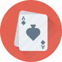 gambling, poker, casino, spade card, ace of spades