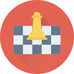chess, chess piece, chess rook, game, play icon