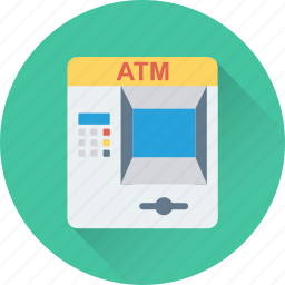 atm, atm machine, automated teller machine, cash line, cash machine icon