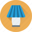 desk lamp, electronics, lamp, light, table lamp icon