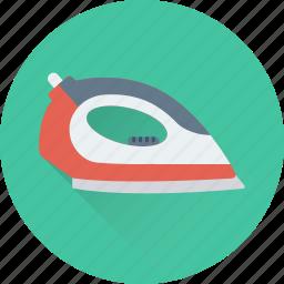 appliance, electric iron, electronics, iron, laundry icon