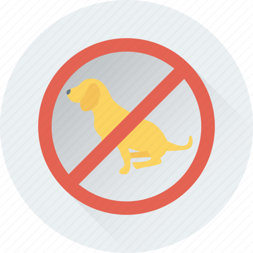 dog, not allowed, pet, pets not allowed, restriction icon